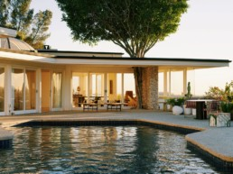 CASA perfect is located in a midcentury home in a Trousdale Estates home designed by Rex Lotery