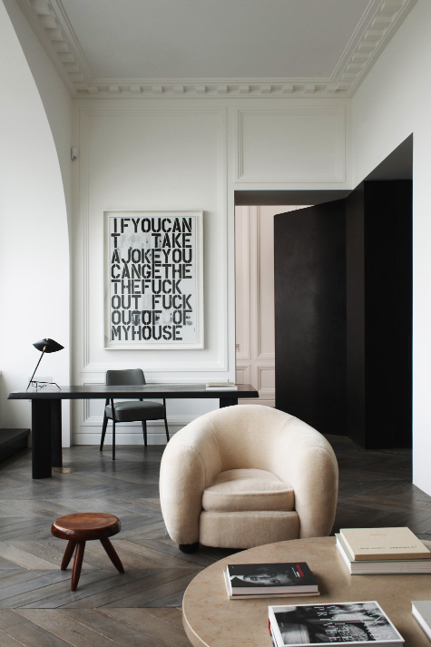 Laid Back Luxe or How to mix Traditional Architecture with Modern Furnishings